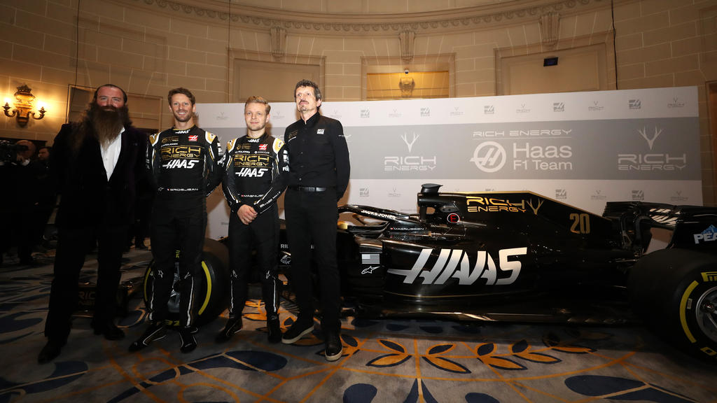 Neuer Haas-Sponsor spuckt große Töne