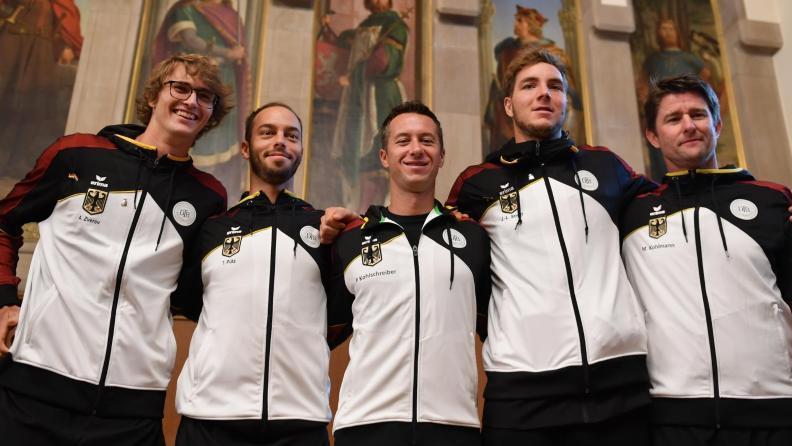 Das deutsche Davis-Cup-Team trifft auf Ungarn
