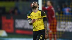 Torjäger Paco Alcácer fällt gegen die Bayern aus