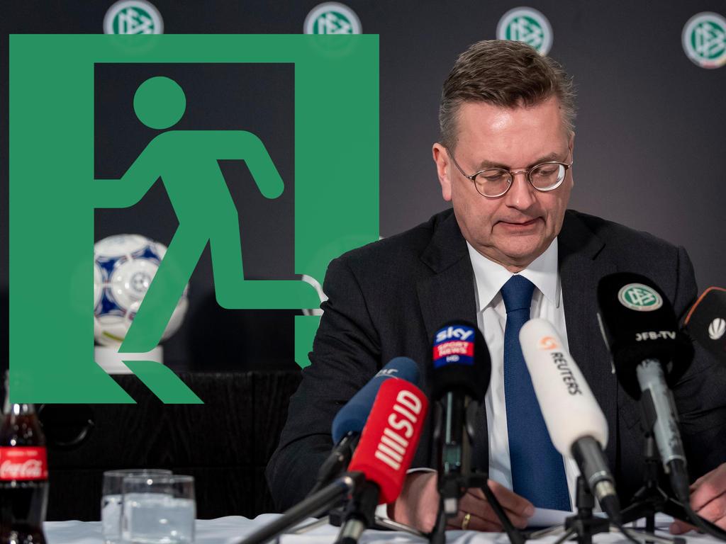 Der Deutsche Fußball-Bund steht nach dem Rücktritt von Reinhard Grindel vor einer ungewissen Zukunft