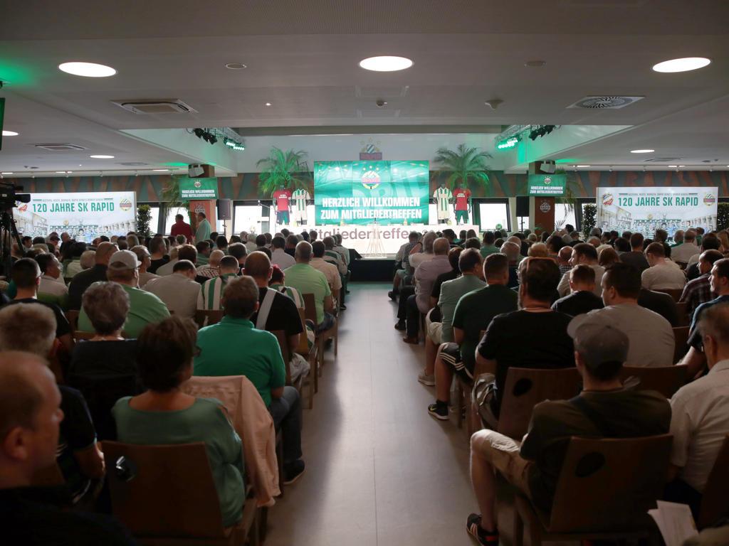 Das Wahlkomitee wurde bei der Mitgliederversammlung im Allianz-Stadion nominiert