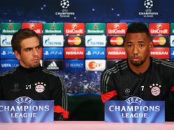 Jérôme Boateng und Philipp Lahm droht in der Champions League eine Sperre
