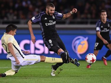 Karim Benzema erzielte im Halbfinale der Klub-WM das 1:0 für Real Madrid