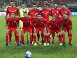 Once de Chile en un amistoso ante Croacia en enero. (Foto: GEtty)