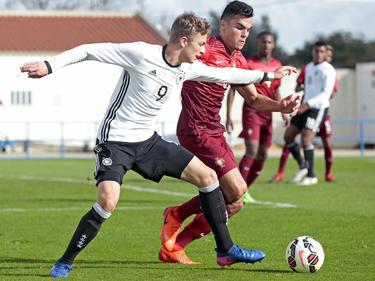 Jann-Fiete Arp wartet mit der deutschen U17 auf den ersten Sieg im Jahr 2017