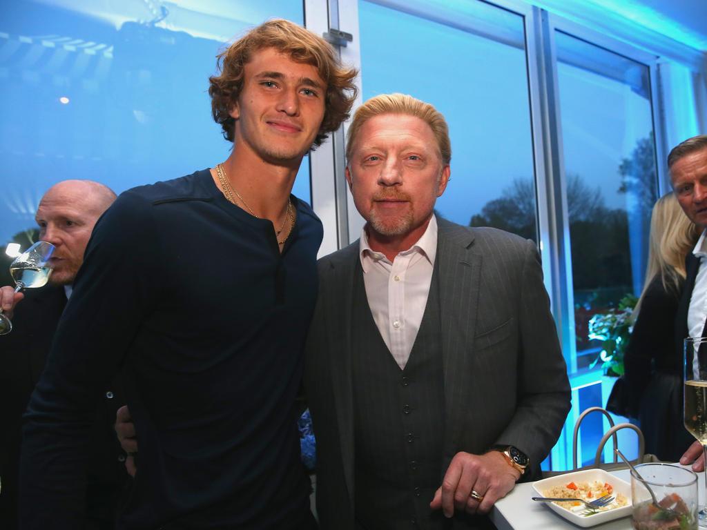 Boris Becker erwartet gerade bei den Grand-Slam-Turnieren mehr von Alexander Zverev
