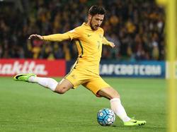 Mathew Leckie soll dabei helfen, Australien zur WM zu führen