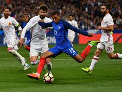 Kylian Mbappé gilt als größtes Juwel des französischen Fußballs