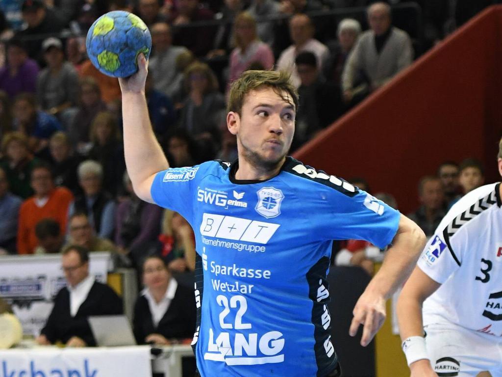 Der HC Erlangen verstärkt sich mit Dominik Mappes