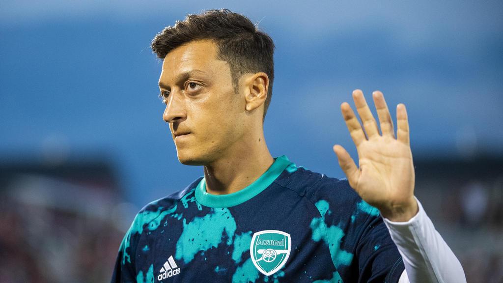 Ob Mesut Özil bei Arsenal bleibt, ist ungewiss