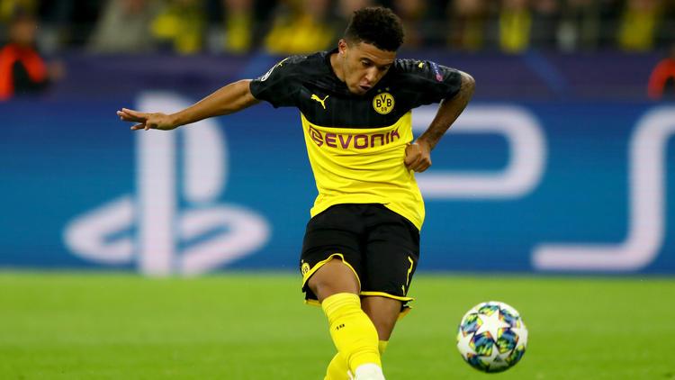 Jadon Sancho sieht seine Zukunft vorerst beim BVB