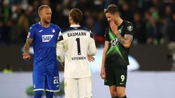 Der VfL Wolfsburg und die TSG aus Hoffenheim trennen sich 1:1-Unentschieden