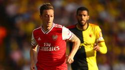 Mesut Özil hab sein Comeback für den FC Arsenal