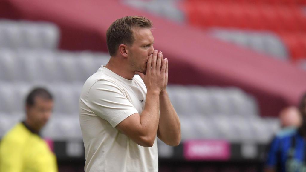 Julian Nagelsmann stehen beim FC Bayern noch nicht alle Spieler zur Verfügung