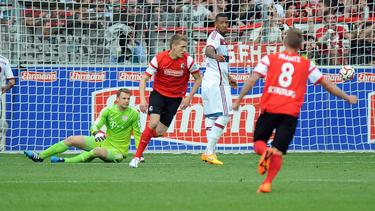 Nils Petersen erzielte 2015 ein legendäres Tor gegen den FC Bayern