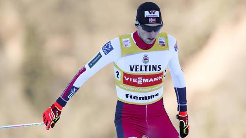 Jarl Magnus Riiber gewann auch in Oberstdorf