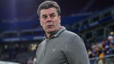 Dieter Hecking will mit dem HSV in die Bundesliga aufsteigen