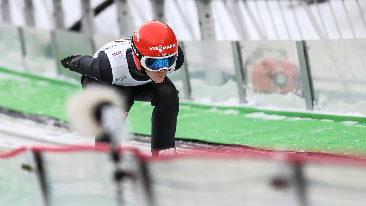 Leyhe stürzte bei der Qualifikation in Trondheim