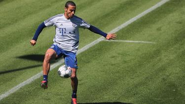 Thiago holte mit den Bayern bisher in jedem Jahr die Deutsche Meisterschaft