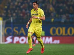 El argentino viste la camiseta del Villarreal en LaLiga.