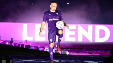 Franck Ribéry ist beim ACFlorenz zum Spieler der Saison gewählt worden