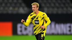 Julian Brandt bekommt von BVB-Trainer Lucien Favre genügend Freiheiten