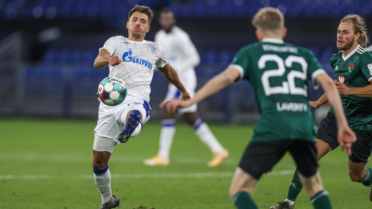 Der FC Schalke 04 steht in der zweiten Runde