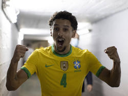 Marquinhos celebra la victoria carioca.