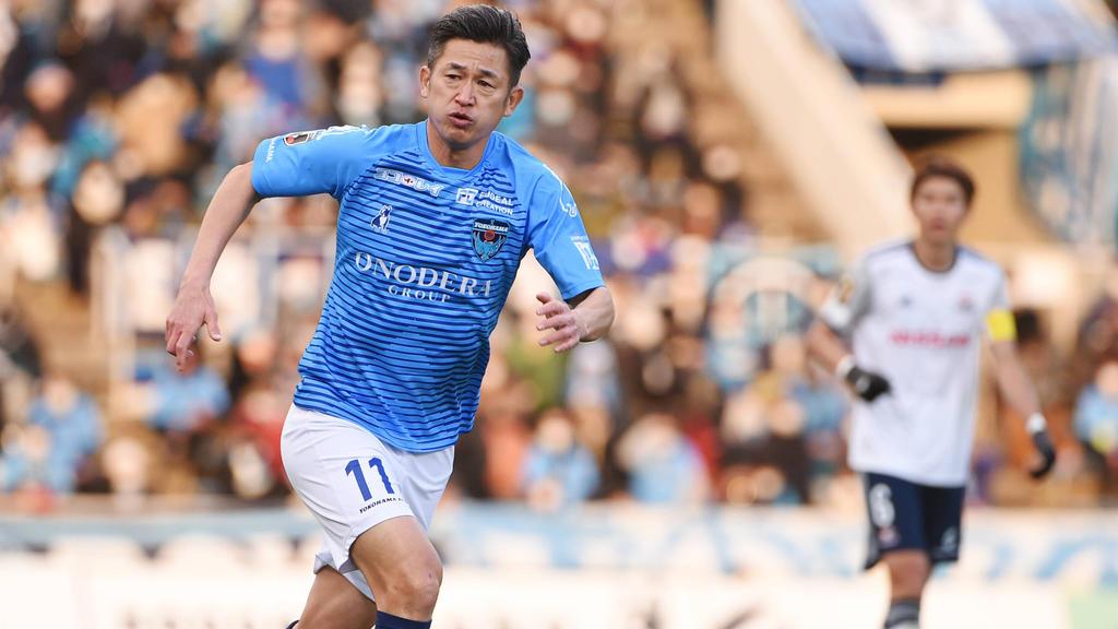 Auch mit über 50 noch nicht müde: Kazuyoshi Miura