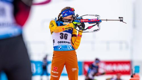 Franziska Preuß verpasste das Podest in Oberhof