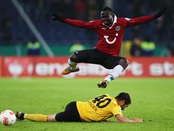 Wechselt von Hannover nach Düsseldorf: Didier Ya Konan