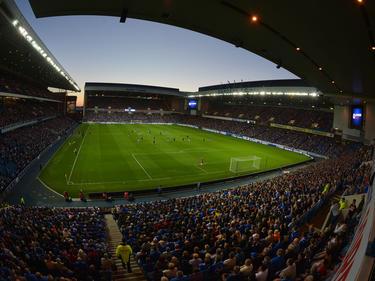 Volles Haus in Liga vier: Die Rangers-Fans stellten nach dem Zwangsabstieg einen Besucher-Weltrekord auf