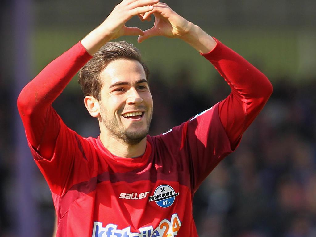 Mario Vrančić ist vom Paderborner Aufstieg überzeugt