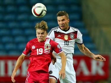 Gibraltrar se enfrentó a Alemania en la clasificación de la Euro. (Foto: Getty)