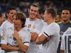 Gareth Bale y Toni Kroos se pierden la Supercopa de Europa. (Foto: Getty)
