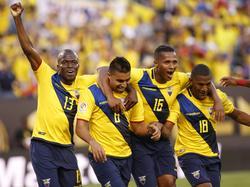 Ecuador schießt Haiti ab und steht im Viertelfinale