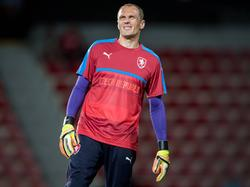 Jaroslav Drobný verletzte sich am Ellenbogen