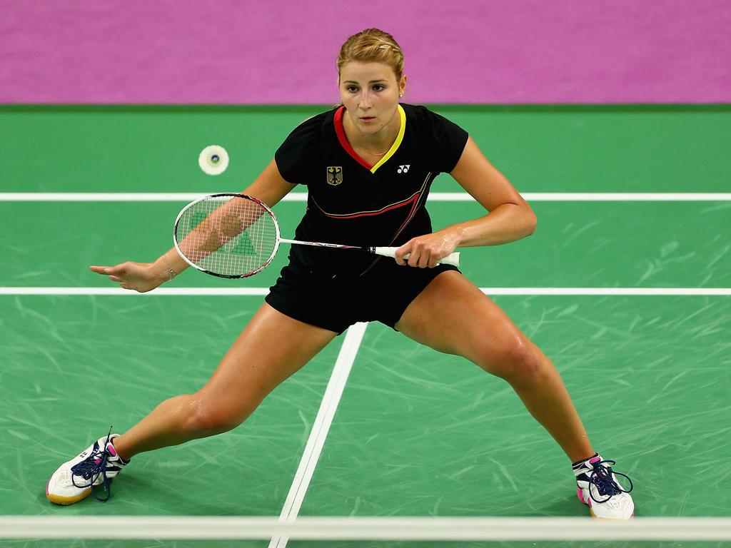 Fabienne Deprez und die Badminton-Damen konnten auch das zweite Gruppenspiel gewinnen