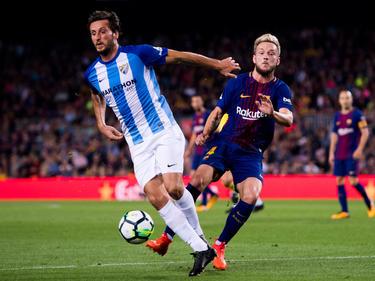 Ivan Rakitić (r.) und der FC Barcelona wollen in Málaga nichts anbrennen lassen. © Alex Caparrós/Getty Images