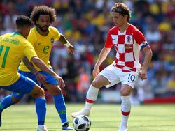 Luka Modric führt die kroatische Mannschaft zur WM