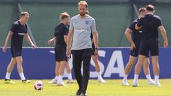 Gareth Southgate kann mit England bei der WM den dritten Platz belegen