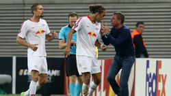 Ralf Rangnick und die Leipziger stolperten beim Europa-League-Auftakt