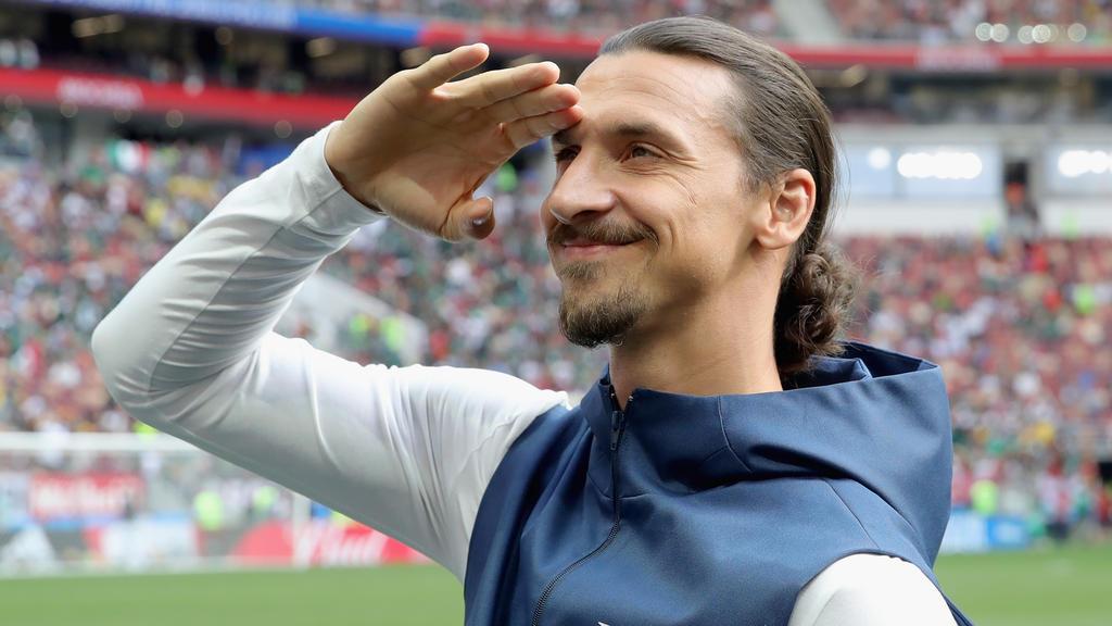 Zlatan Ibrahimovic spielte vier Jahre lang für Paris Saint-Germain