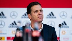 Oliver Bierhoff hat sich zur Situation von Mesut Özil beim DFB geäußert