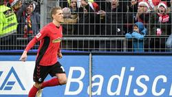 Auf Rekord-Kurs: Freiburgs Nils Petersen