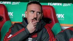 Franck Ribérys Vertrag beim FC Bayern läuft am Saisonende aus