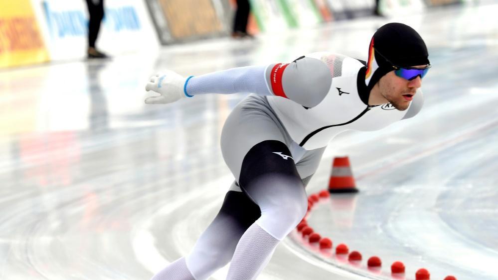 Lukas Mann gewann die Junioren-WM im Eisschnelllauf