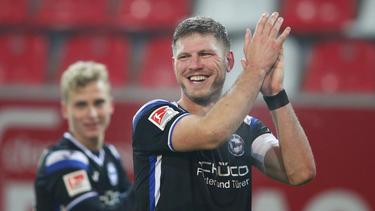Fabian Klos erzielte beide Treffer für Arminia Bielefeld