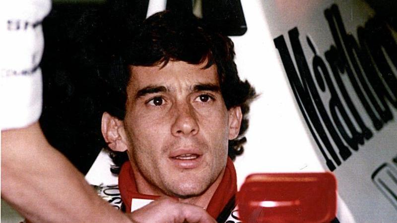 Die brasilianische Formel-1-Legende Ayrton Senna