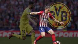 Wechselt Filipe Luís (r.) im Sommer ablösefrei zum BVB?